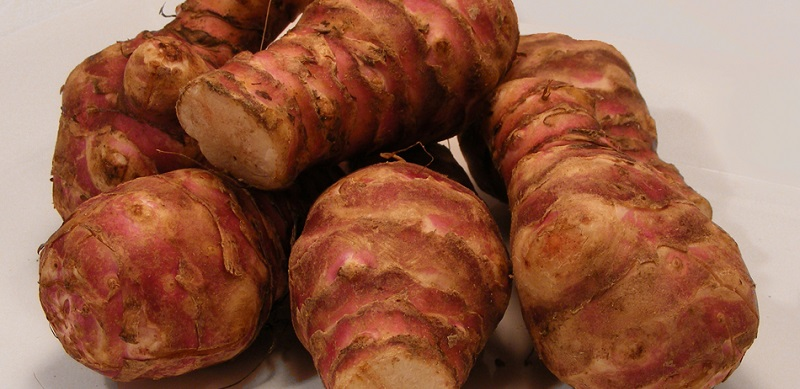 Sałatki i surówki z topinamburu